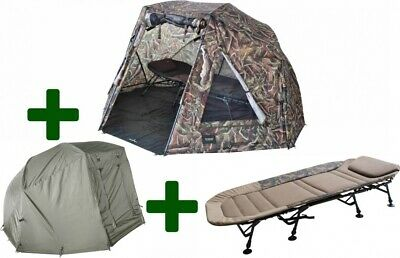 Brolly Set 60 Nature Brolly inkl. Bedchair & Winterskin