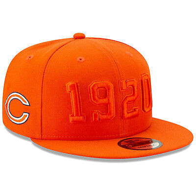 2019 Chicago Bears C New Era 9FIFTY NFL Color Rush Sideline Snapback Hat Cap