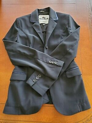 Grand Prix Hunter Classic Show Jacket - Navy Blue - Size 36 - Used