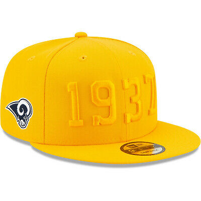 2019 Los Angeles Rams LA New Era 9FIFTY NFL Color Rush Sideline Snapback Hat Cap