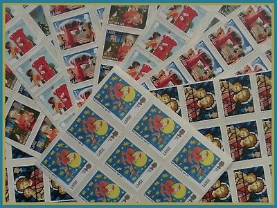 FV £143.10- 135 x 1st Class Large Stamps Self Adhesive Unfranked Peel & Stick