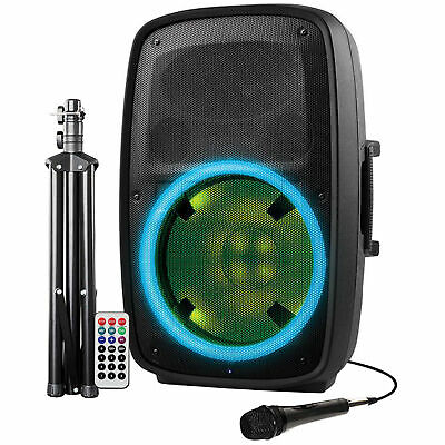 Ion Audio Total PA Plus Glow 2 High-Power 500W Bluetooth PA System with Lights