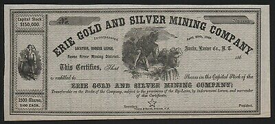 186_ Austin, Lander Co., Nevada Territory: Erie Gold and Silver Mining Company