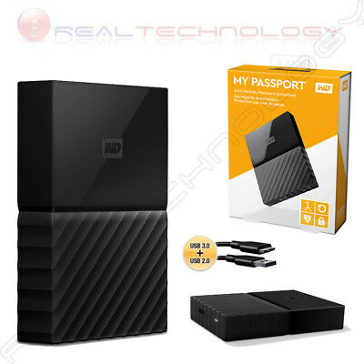 WDBYNN0010BBK-WESN WESTERN DIGITAL My Passport external hard