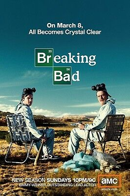 ALL HAIL THE KING POSTER Rare Hot New BREAKING BAD 24x36