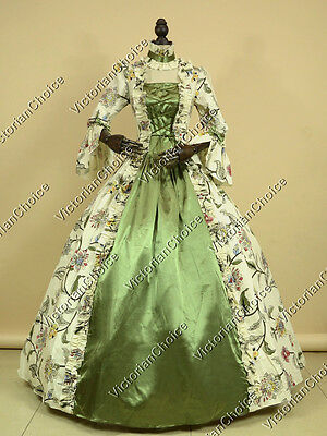 Renaissance Forest Goddess Dress Antique Gown Reenactment Halloween Costume 138