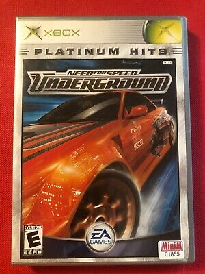 Need for Speed: Underground (Microsoft Xbox, 2003) (CIB) (GD)