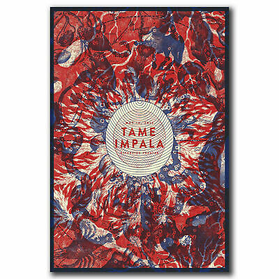 Art Poster 032 Tame Impala Psychedelic Rock Music Cover Tour