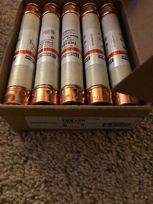 Box Of (10) New Old Stock! Mersen Tri-Onic 15A 600V Rk Fuses Trs15R
