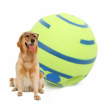 Wobble Wag Giggle Ball Dog Play Training Pet Toy With Funny Sound Hot No Harm