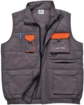 721 Texo Contrast Bodywarmer Med TX13GRRM Portwest Genuine Top Quality Product