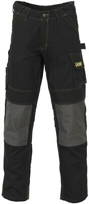 Cheadle Pro Trouser Blk 44in Tal D-WDB/44 JCB Genuine Top Quality Product New