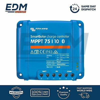 VICTRON ENERGY Smart Solar MPPT 75/10 10 AMP Bluetooth integrated SCC075010060R