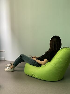 Large Bean Bag Cover Gaming Chair Beanbag Indoor & Outdoor Garden Big Arm Chair