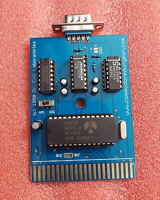 GGLABS GLINK-LT COMMODORE 64/128 User Port RS232 VIC-1011