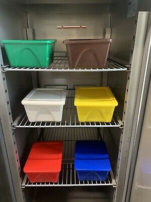 Catering Storage Containers Colour Coded