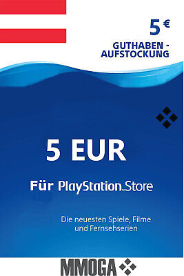 5€ EUR PSN Network Card - 5 Euro PlayStation Guthaben Code PS3/4 - AT*