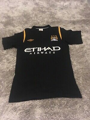 Manchester City Away Shirt Umbro - Adults Size Small 34""