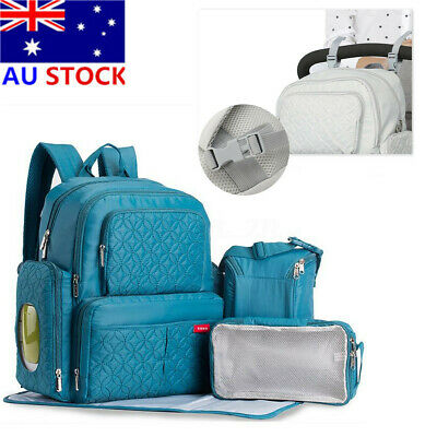 Large Mummy Backpack Multifunctional Baby Diaper Nappy Waterproof Changing Bag