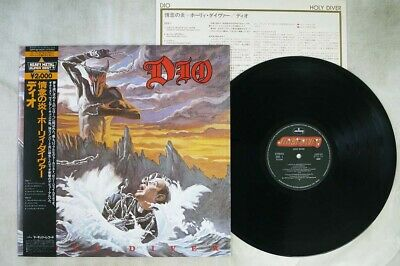 DIO HOLY DIVER WARNER 20PP-92 Japan OBI VINYL LP