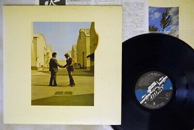 PINK FLOYD WISH YOU WERE HERE CBS/SONY 25AP 1258 Japan POSTER VINYL LP