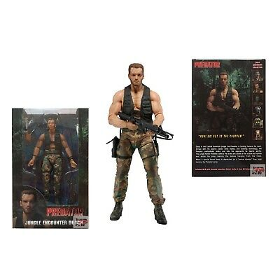 "NECA PREDATOR SERIES 9 ~ 7/"" JUNGLE ENCOUNTER DUTCH ~ COLLECTIBLE ~ /""BRAND NEW/"""