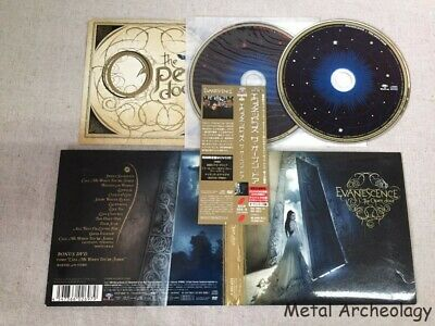 Evanescence - The Open Door JAPAN DIGI CD+DVD 2006 (EICP-668/9) OBI