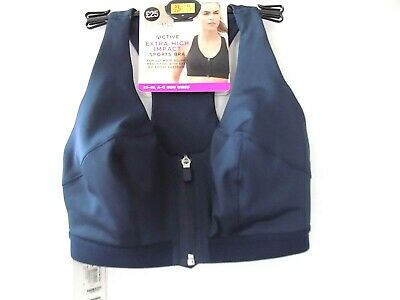M&S Active Extra High Impact Sports Bra Colour Navy RRP £25.00