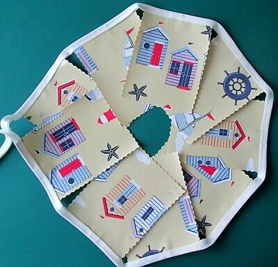 SEA SHELLS // MINI BUNTING 9 FLAGS PVC // OILCLOTH 1 METRE