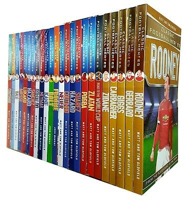Ultimate And Classic Football Heroes Series Collection 24 Books Set  NEW