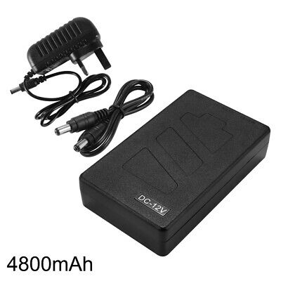 5V/12V 2In1 USB Rechargeable 4800mAh Li-ion Battery Pack With UK Adapter LD1881