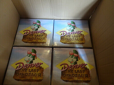 "Denver The Last Dinosaur Factory Case of 4 Resin 12"" Collector Statues Limited"
