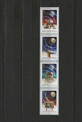 Space Apollo 11 Moon Landing 50th anniversary 2019 Australia 4 self adhesive MNH