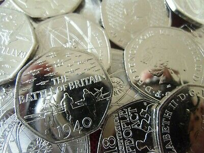 Various Uncirculated 50p Coins : Choose a Coin : From Mint Sealed Bag / Bags