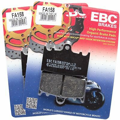 EBC Organic Rear Brake Pads For Suzuki 2009 GSF1250S Bandit K9