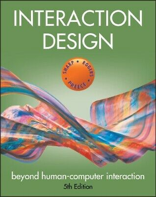 Interaction Design - Beyond Human-Computer Interaction Free shipping E. Book B8
