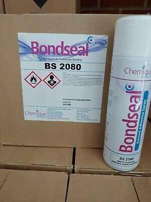 ***$69.99 LIMITED TIME***Chemique Bondseal 2080.   12 Can Case