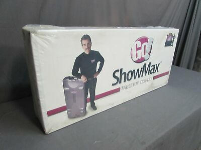ExpoGo Prezenta Showmax SM-1836 Portable Self Packing Table Top Display