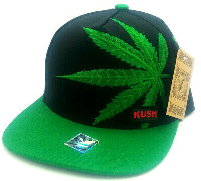 4ae85bb8 CANNABIS SNAPBACK CAPS, weed flat peak hats, marijuana baseball mens ...