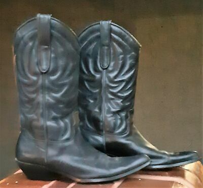 Western Cowboy Boots by 'Lipstick', Leather, size 8 1/2.
