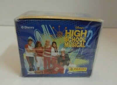 High School Musical 2 Stickers Box 50 Packs Panini Made in Italy