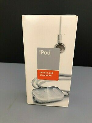 Apple iPod Remote + earphones M8751G/A for Classic IPOD 1st 2nd Generation A1018