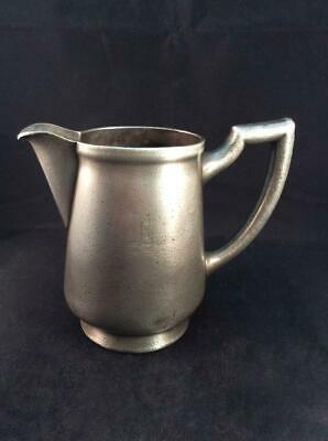 Antique Victorian C.1880 early WMF German silver nickel jug