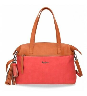2d991f4c29 BORSA SHOPPING DONNA Pepe jeans TANSY Beige 6957072 - EUR 85,99 ...