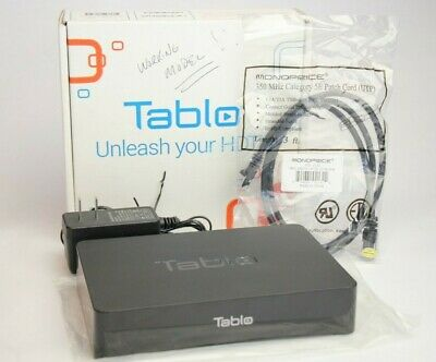 Tablo 2 Tuner Over The Air HDTV DVR Wifi Model SPVR2-01-NA