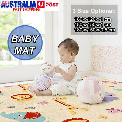 Non-Slip Baby Carpet Game Play Mat Foam Puzzle Pad Child Crawling Blanket 180CM