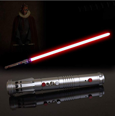 YDD  Lightsaber Fx Sword Darth Maul Dueling 16 Color Changing Force Jedi Cosplay