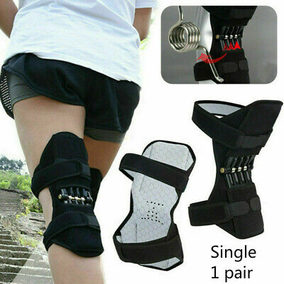1/2x Power Knee Stabilizer Pads Lift Joint Support Powerful Rebound Spring Force