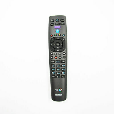 Genuine BT Youview RC3124705/01B Remote Replace For RC3124705/02B 03B 05B S.T.B