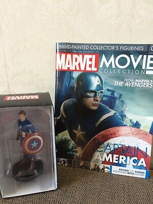 EAGLEMOSS MARVEL Movie Collection Figure Captain AMERICA Hydra Soldier